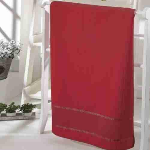 Toalha Rosto Döhler Bordar - Bella Vermelha 2900