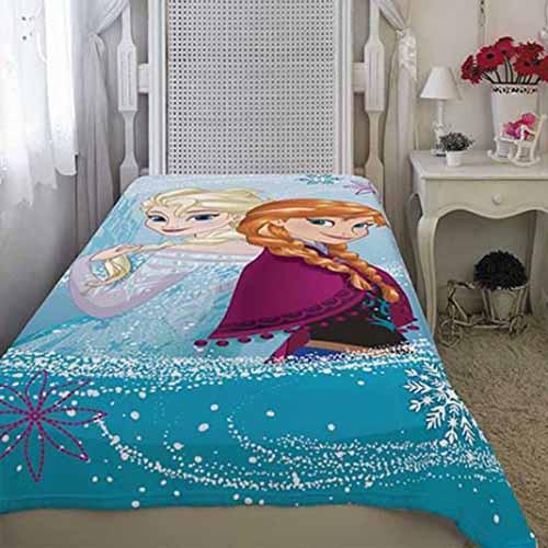 Manta Fleece Infantil Lepper - Frozen