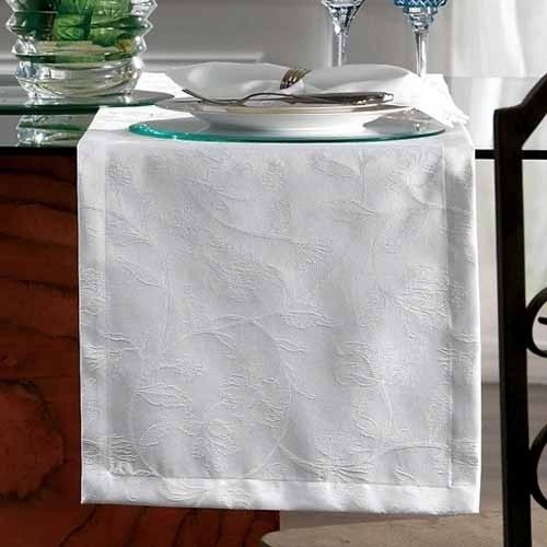 Toalha Mesa Karsten Easy Wash - 1,60x3,20 - Olinda Branca