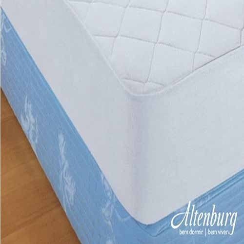 Protetor de Colchão Queen Altenburg Comum - altura 47 cm