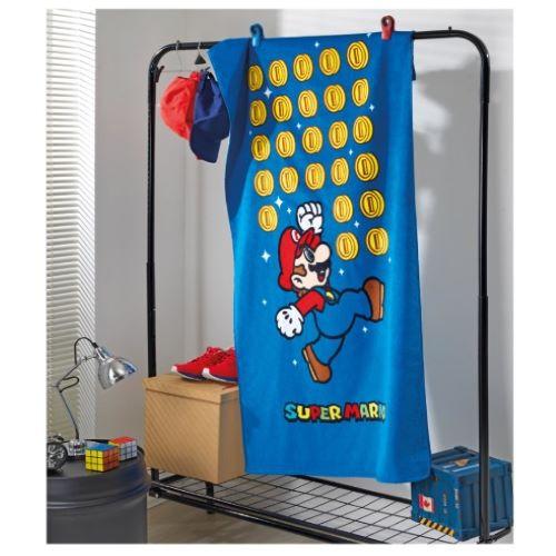 Toalha Banho Döhler - Super Mario Azul