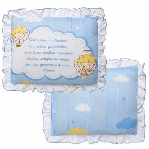 Travesseiro Incomfral - Anjo da Guarda Azul