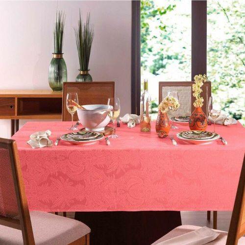 Toalha Mesa Karsten Sempre Limpa - 1,60x2,20 - Tropical Rose