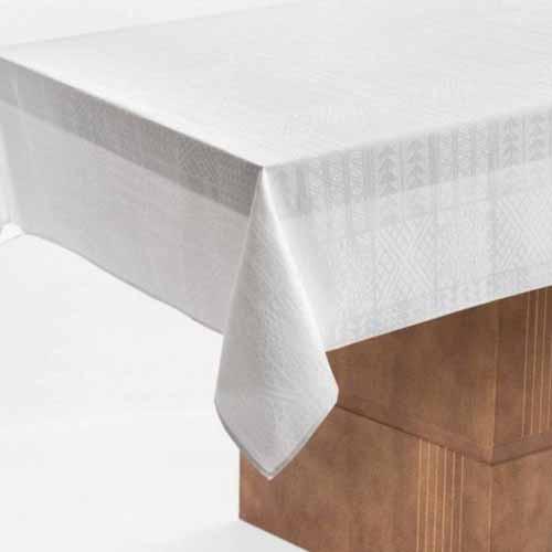 Toalha Mesa Karsten - 1,80x1,80 - Zapallo Branca