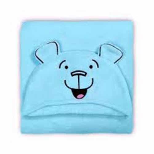 Manta Capuz Urso Azul  (1)